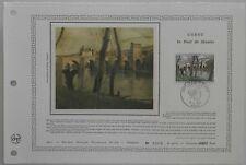 Document Artistique DAP 269 1er jour 1977 Corot Le pont de Mantes