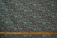 Baumwollstoff (€10/m²) 0,3m geblümt kleingemustert 1,4m breit
