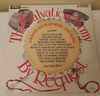 THE SALVATION ARMY BY REQUEST LP ~ VINYL EXCELLENT ~ WW 5038