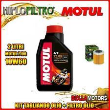 KIT TAGLIANDO 2LT OLIO MOTUL 7100 10W60 KTM 690 Enduro R 1st Oil Filter 690CC 20