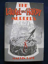 THE LAUREL & HARDY MURDERS - SIGNED by Author MARVIN KAYE 1st Edition