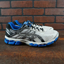 VGC! ASICS Gel-Cumulus 15 Mens Size 10.5 Wide 2E Running Shoes White Blue Black