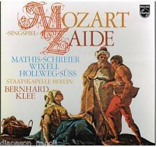 Mozart: Zaide / Klee, Mathis, Schreier, Wixell - LP Philips