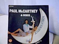 Paul McCartney & Wings Junior's Farm / Sally G 45 (France) Rare Cover