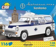 COBI Warszawa 223K Ambulance / 24549 / 116 blocks toys auto car   ,