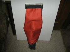 Vintage Kirby Heritage Upright Vacuum Cleaner Orange Outer Cloth Bag with Emptor