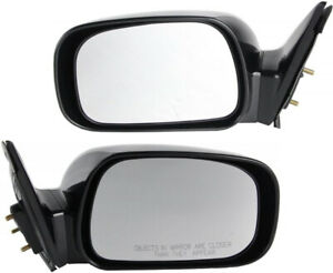 2 Door Mirror Assemblies LEFT & Right DORMAN For Toyota Camry 02-06 JAPAN car