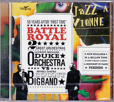 CD 11T Laurent Mignard Duke Orchestra & Michel Pastre Big Band BATTLE ROYAL NEUF