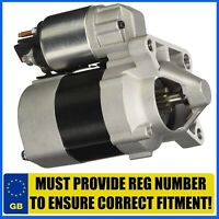 FITS RENAULT 1.4 AND 1.6 PETROL VARIOUS MODELS 1998-2015 BRAND NEW STARTER MOTOR