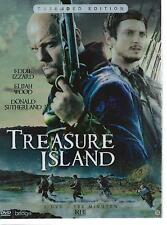 double (2) DVD - TREASURE ISLAND - EDDIE IZZARD D. SUTHERLAND 3hrs ENGLISH / NL