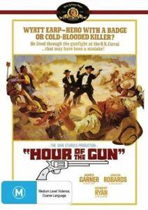 HOUR OF THE GUN DVD 1967 NEW Region 4 James Garner, Jason Robards, Robert Ryan
