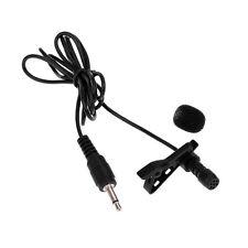 SUPER Sensible Mini Clip en el cuello/de solapa micrófono 1.2m Cable 3.5mm Enchufe Mono