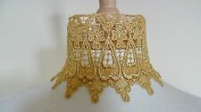 Gold Lace Choker Victorian Necklace Medieval Pagan Steampunk Gothic Wedding