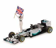 Minichamps - 1:43 Mercedes F1 Lewis Hamilton Abu Dhabi GP 2014 - 410140644