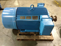 Siemens 200HP TEFC 3 Phase 3600 RPM 2300V CGZ 60hz Electric Motor (MO016)