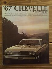 67 Chevelle Sales Brochure By Chevrolet ( Pamphlet )
