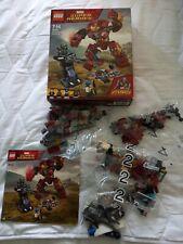 Lego Marvel Super Heroes Hulkbuster Smash-Up (76104) En Excelentes Condiciones