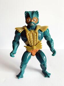 Vintage Mer-Man Action Figure, 1982, Mattel, Masters of the Universe