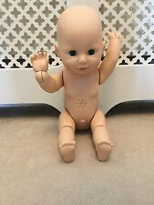 baby annabell zapf creation crawling doll