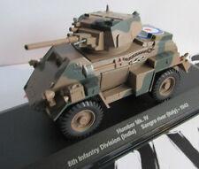 1/43 British Military militaire Humber MkIV Italy 1943 WW2 No tank Panzer Solido