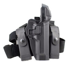 Tactical Right Hand Drop Leg Thigh Level 3 Lock Duty Holster for Beretta M9 M92