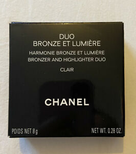 Chanel Duo Bronze El Lumiere Bronzer And Highlight Duo 8g