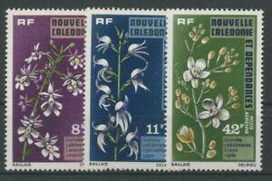 Neukaledonien 1975 Orchideen 563/65 postfrisch