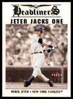 2002 Fleer Headliners Jacks One Derek Jeter Yankees *Noles2148* 10=FreeShip