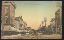 Postcard BUCYRUS Ohio/OH  Main Street North Business Storefronts 1907