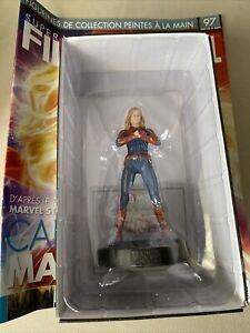 Figurine captain Marvel Eaglemoss  Marvel Nouveautés  Super Héros numéro 97