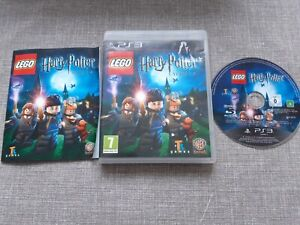 LEGO HARRY POTTER YEARS 1-4 PS3 PLAYSTATION 3 PREOWNED