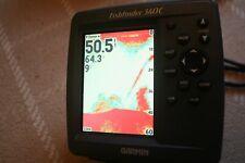 Garmin fishfinder 340C fish finder