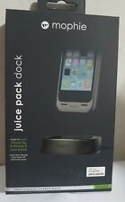 NEW! Mophie Juice Pack Desktop DOCK for iPhone 5 / 5s / SE - Black