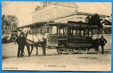 CPA: Auxerre - La Gare / Tram