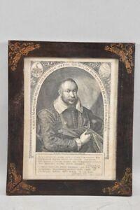 k65p14- Ägidius Sadeler (sc.), Porträt Marquard Freher, Kupferstich um 1618