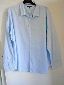 Blue Dress Shirt Taro Cash NWT  3XL Paid $89.99