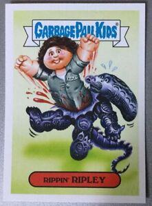 Garbage Pail Kids Oh The Horror Sticker Rippin' Ripley Alien 10a