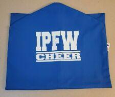 Varsity Brand IPFW Cheer Official Garment Bag Cheerleading Uniform Storage Blue