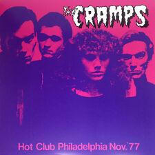 THE CRAMPS Hot Club Philadelphia Nov. '77 LP . poison ivy lux interior punk tras