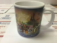 "Walt Disney World 2000 ""Celebrate the Future Land to Land"" 16 oz Coffee Mug Cup"