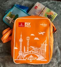 Emirates Airline Lonely Planet Kids Fly With Me Shoulder Tote Bag Lot