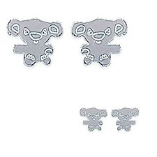 Boucles d'oreilles Koala pour enfant en ARGENT 925°°° - 1429200 - BEAU BIJOU