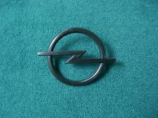 Emblem / Badge Opel Kühlergrill schwarz black ca. 58 mm, 2 Befestigungsstifte