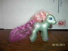 2003 2004 HASBRO MY LITTLE PONY PONIES BABY FLOWER FLASH SUPER LONG HAIR