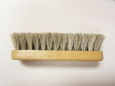 "Professional Boot/Shoe Shine/Buff Brush - 100% Horsehair 5-1/4"""" Long - BLONDE"