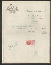 """TOULOUSE (31) COMMERCE de CHAUSSURES """"PIERRE BOTTIER"""" en 1948"""