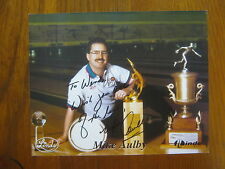 Mike Aulby Pba Hall of Fame Legend Signed 8 X 10 Color Photo