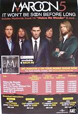 "Maroon5 ""It Won'T Be Soon"" Asia Promo Poster-Group Shot"