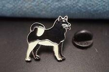 Akita Husky Dog Metal Tie Tac Hat Pin