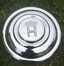 Horch 830 and 930 wheel hub caps restored